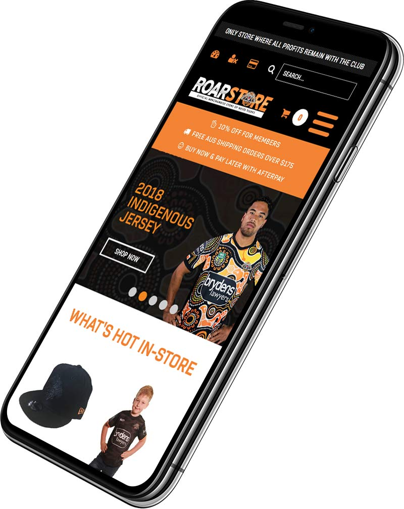 Wests Tigers Roarstore